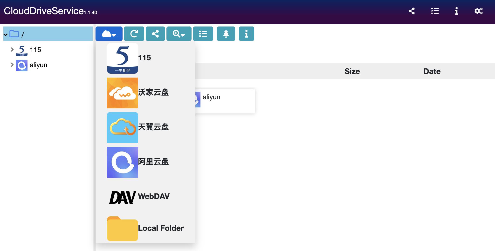CloudDrive add pan